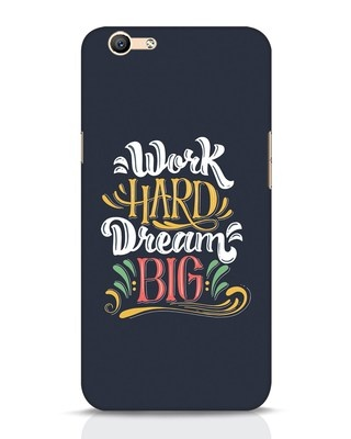 Shop Work Hard Oppo F1s Mobile Cover-Front