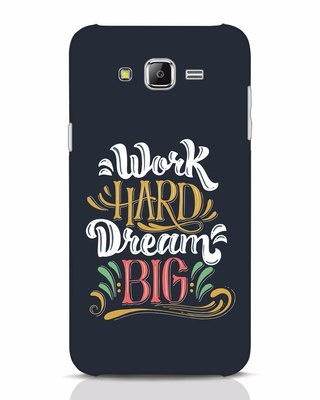 Shop Work Hard Samsung Galaxy J7 Mobile Cover-Front