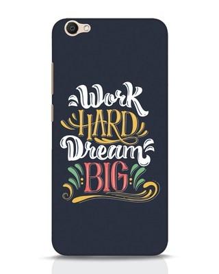 Shop Work Hard Vivo V5 Mobile Cover-Front