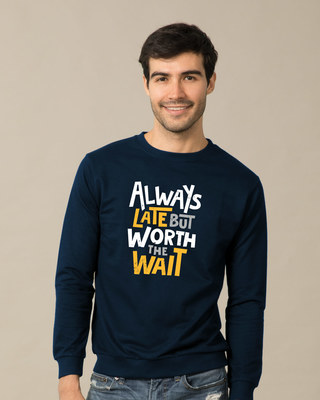 Shop Worth It Sweatshirt-Front