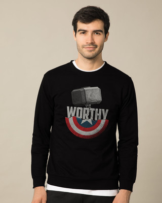 Shop Worthy Fleece Sweater (AVEGL)-Front