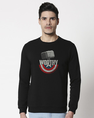 Shop Worthy Fleece Sweater-Front