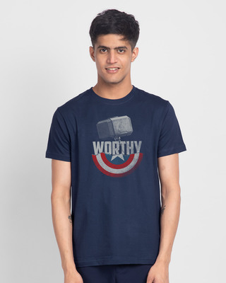 Shop Worthy Half Sleeve T-Shirt (AVEGL)-Front