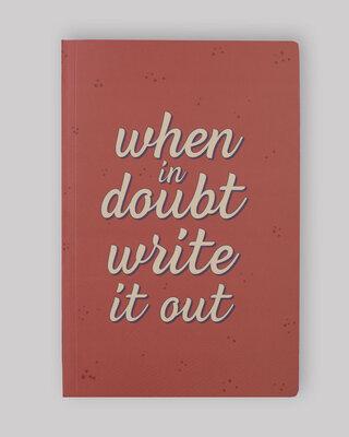 Shop Write It Out Notebook-Front