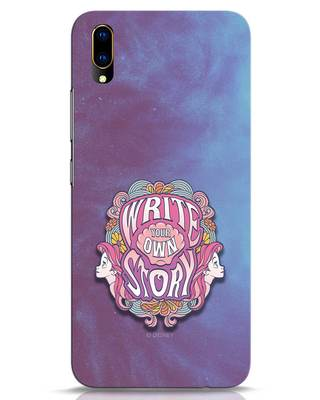 Shop Write Your Own Story Vivo V11 Pro Mobile Cover (DL)-Front