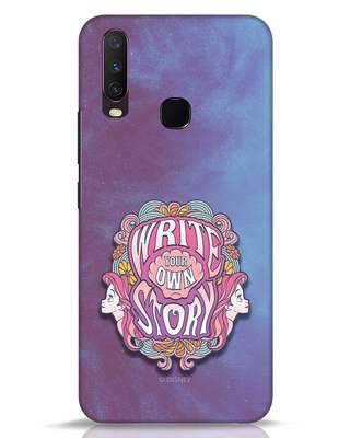 Shop Write Your Own Story Vivo Y17 Mobile Cover (DL)-Front