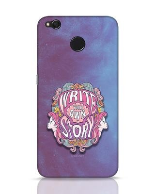 Shop Write Your Own Story Xiaomi Redmi 4 Mobile Cover (DL)-Front