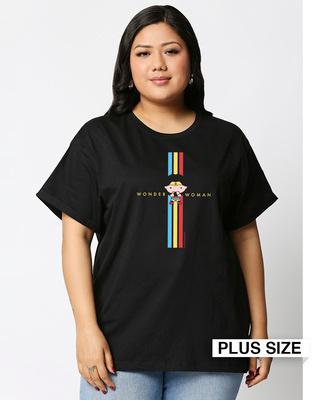 Shop Ww Pop  Boyfriend T-Shirt (DCL)-Front