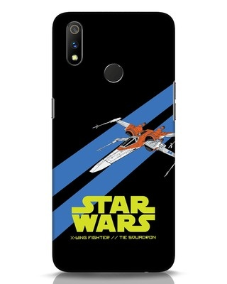 Shop X Wing Fighter Realme 3 Pro Mobile Cover-Front
