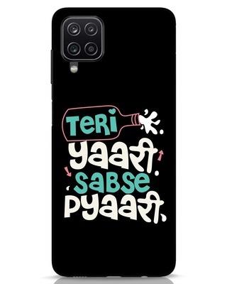 Shop Yaari Samsung Galaxy A12 Mobile Cover-Front