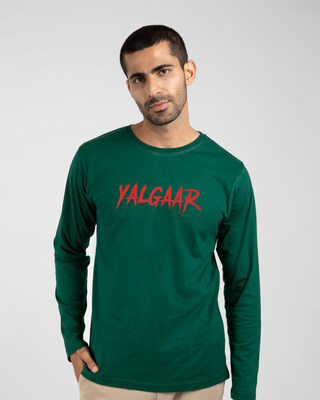 Shop Yalgaar Ho Full Sleeve T-Shirt-Front