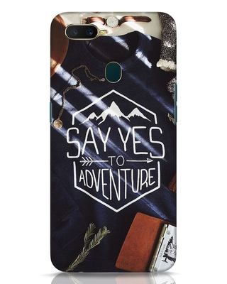Shop Yestoadventure Oppo A7 Mobile Cover-Front