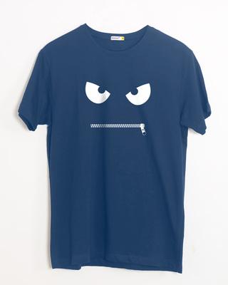 Zip It Half Sleeve T-Shirt