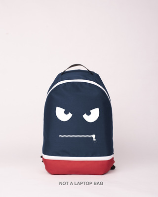 Shop Zipped It Printed Small Backpack-Front