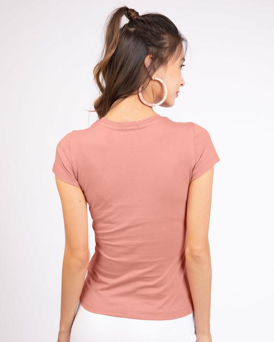 Shop #instamoods Half Sleeve T-Shirt-Back