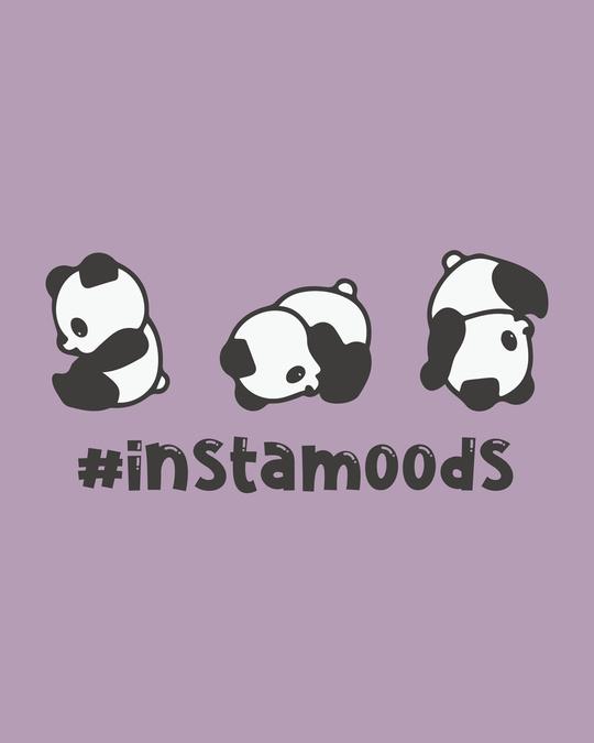 Shop #instamoods Scoop Neck Full Sleeve T-Shirt-Full