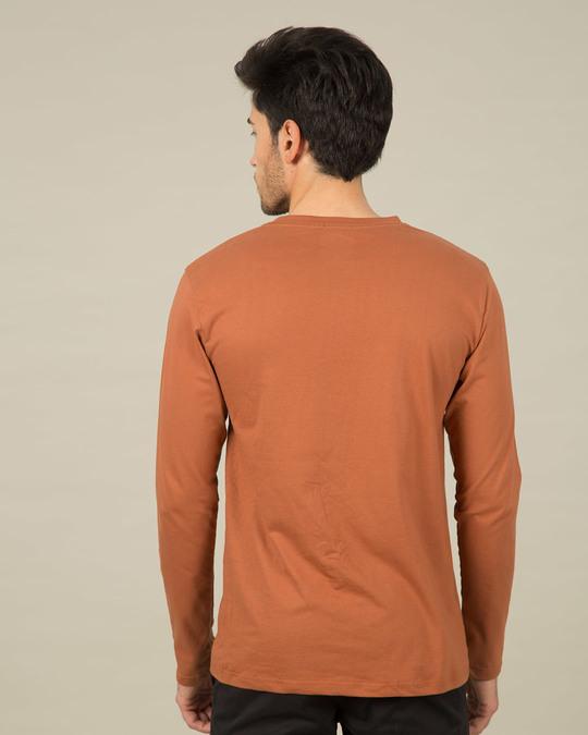 Shop 100% Desi Full Sleeve T-Shirt-Back