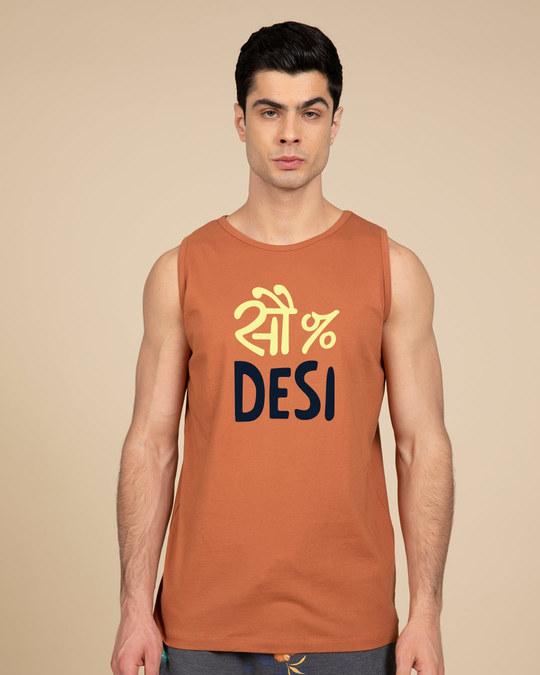 Shop 100% Desi Vest-Front