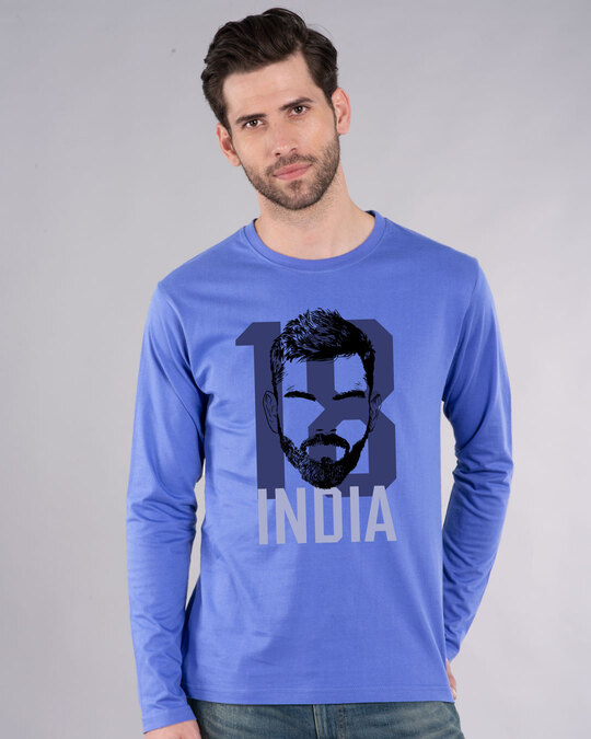 Shop 18 India Full Sleeve T-Shirt-Front