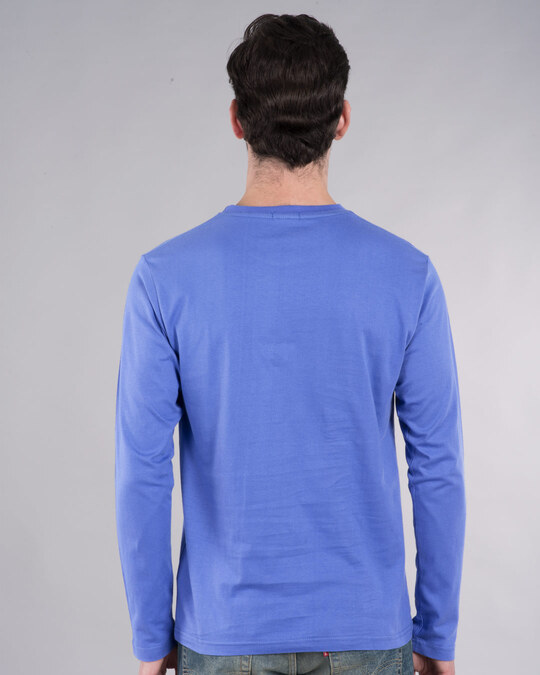 Shop 18 India Full Sleeve T-Shirt-Back