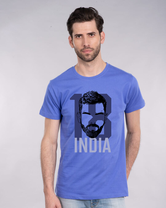 Shop 18 India Half Sleeve T-Shirt-Front