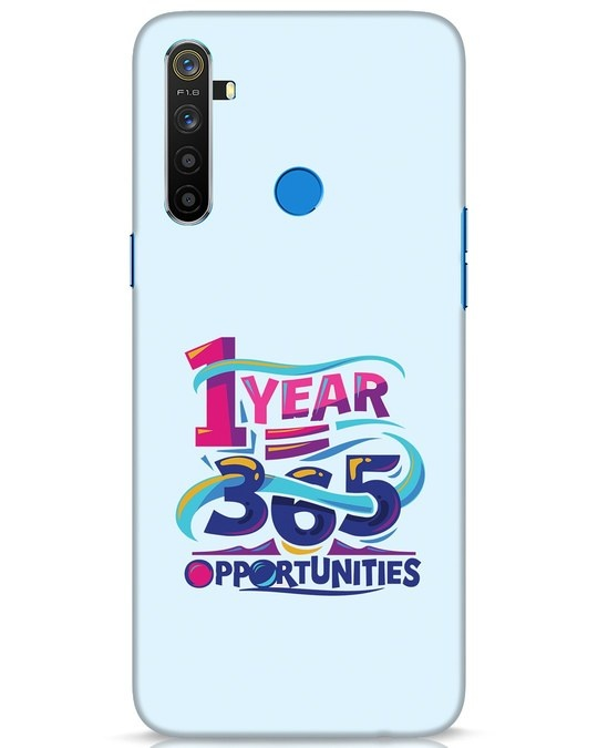 Shop 1year 365 Opportunities Realme 5 Mobile Cover-Front