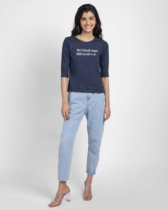 Shop 2020 Lol Round Neck 3/4th Sleeve T-Shirt-Full