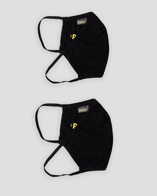 Shop 3-Layer Reusable Printed Life Mask-Pack of 2 ( Pehchan Kaun )-Full