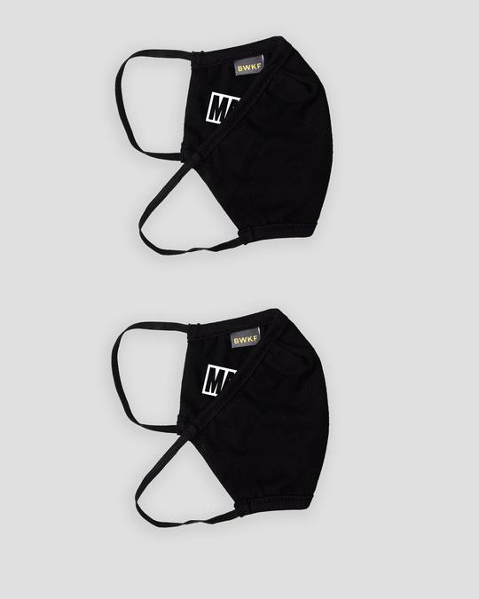 Shop 3-Layer Reusable Printed Life Mask-Pack of 2 (Logo Marvel)-Design