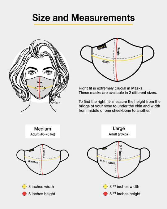 Shop 3-Layer Reusable Printed Life Mask-Pack of 3 (Skrlx Line)-Design