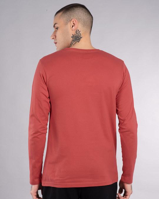 Shop 3 Mistakes Full Sleeve T-Shirt-Back