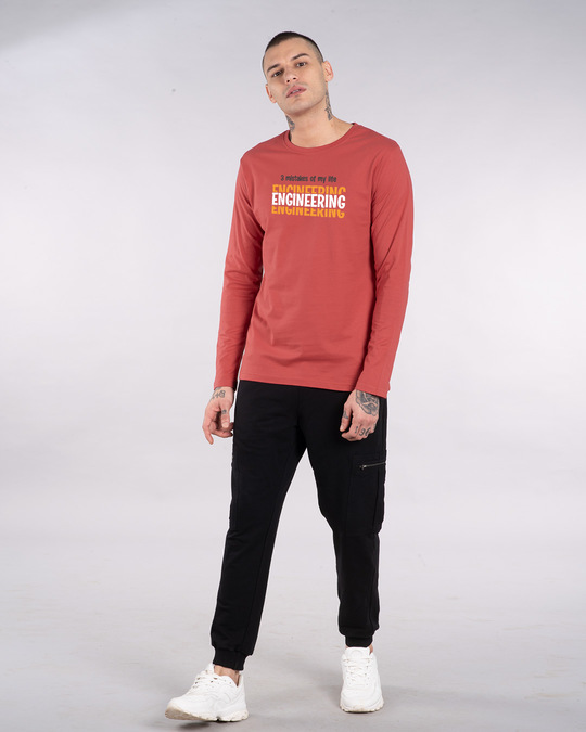 Shop 3 Mistakes Full Sleeve T-Shirt-Design