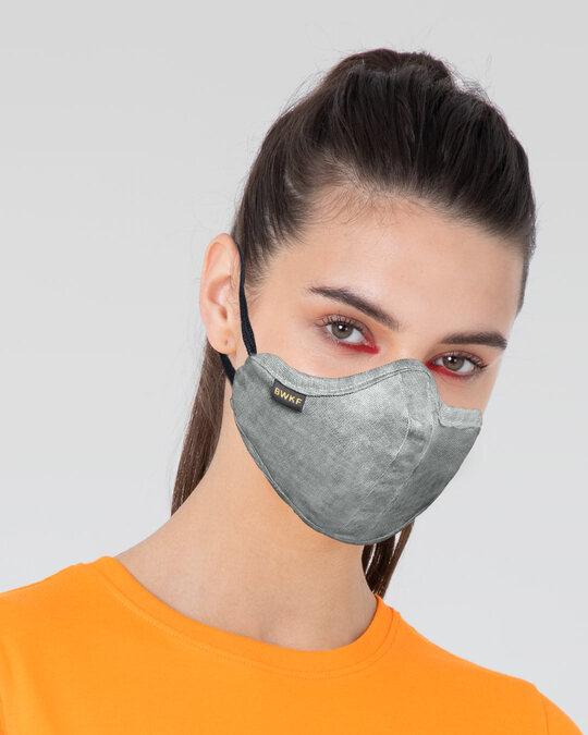 Shop 3 Panel Fashion Mask Combo of 3 (Beach Brown)