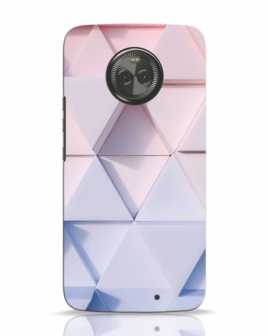 Shop 3d Prisma Moto X4 Mobile Cover-Front