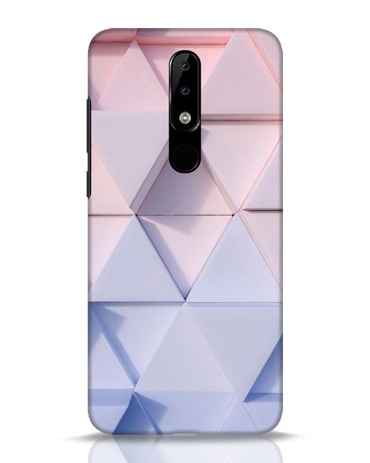 Shop 3d Prisma Nokia 5.1 Plus Mobile Cover-Front