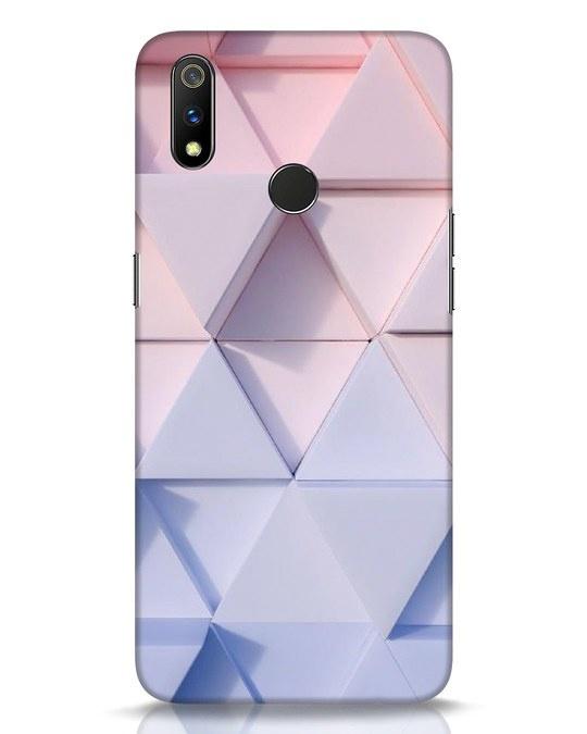 Shop 3d Prisma Realme 3 Pro Mobile Cover-Front