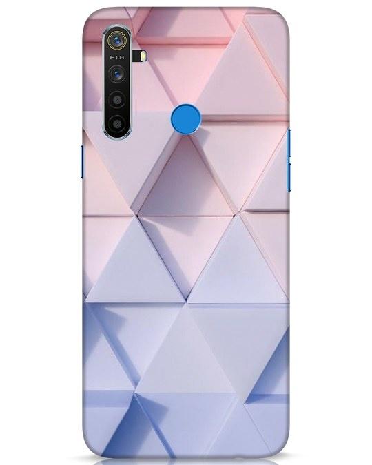 Shop 3d Prisma Realme 5 Mobile Cover-Front