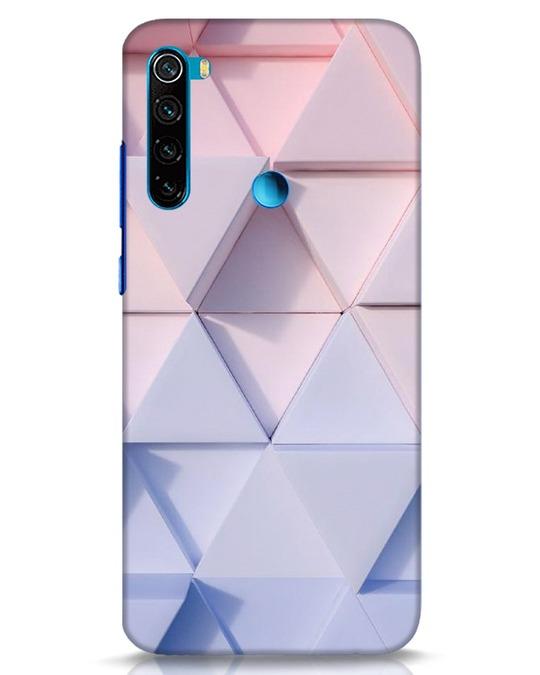Shop 3d Prisma Xiaomi Redmi Note 8 Mobile Cover-Front