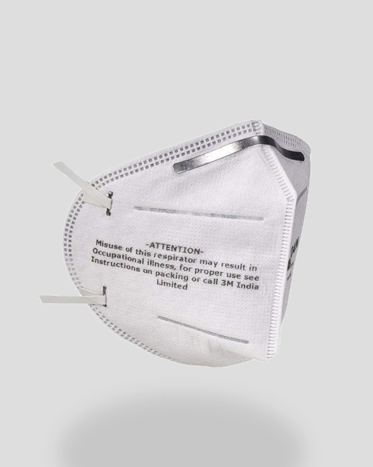 Shop 3M Folded Dust/Mist Respirator 9004IN Mask Pack of 3-Design