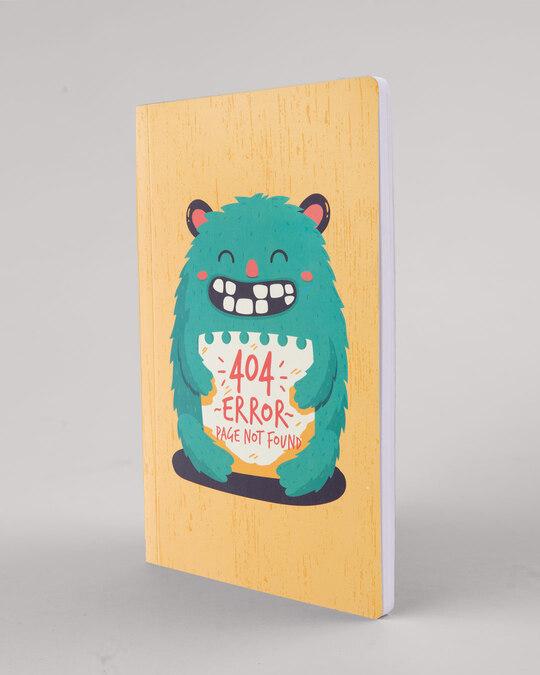 Shop 404 Error Notebook-Full