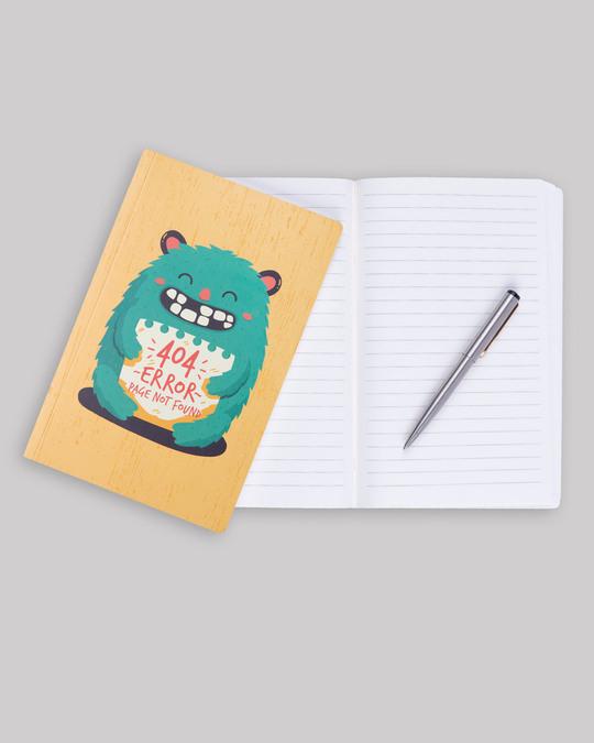 Shop 404 Error Notebook-Back