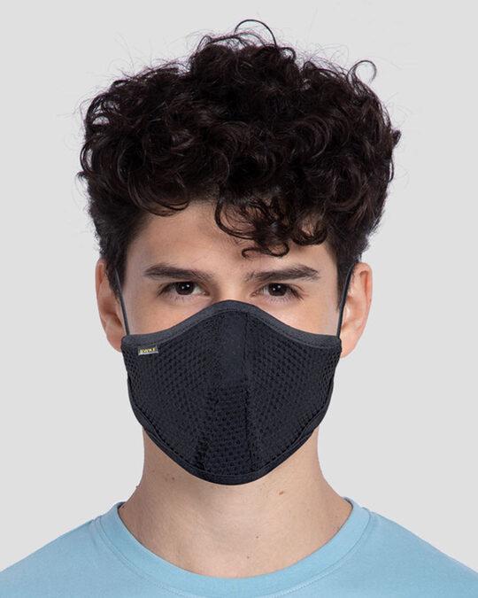 Shop 5-Layer Bewakoof N 95 Reusable Life Mask - Pack of 3 (Black)