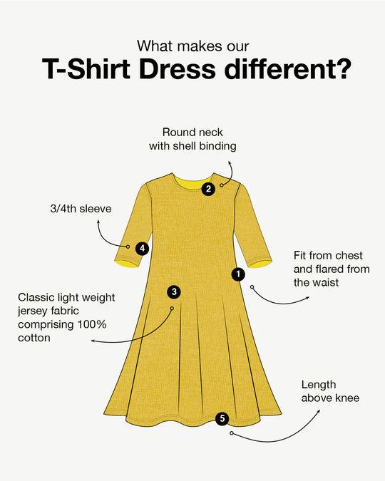 Shop Pastel Beige Flared Dress-Design