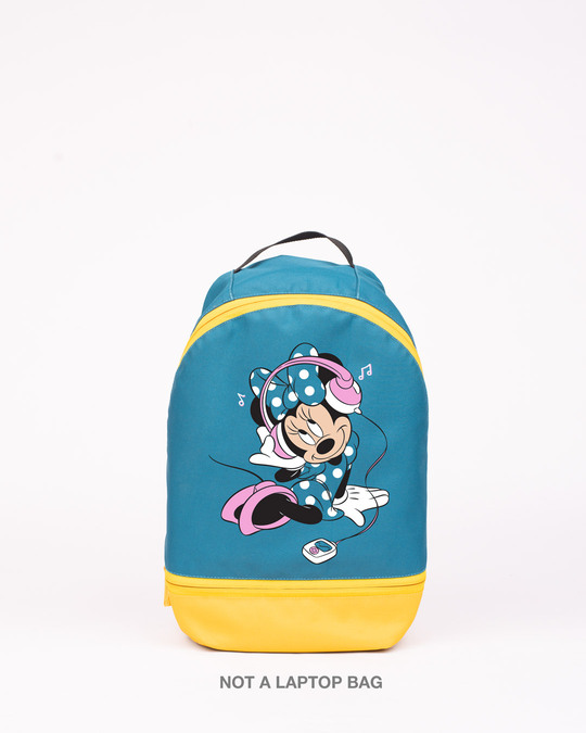 Shop A Happy Music Printed Mini Small Backpacks (DL)-Front