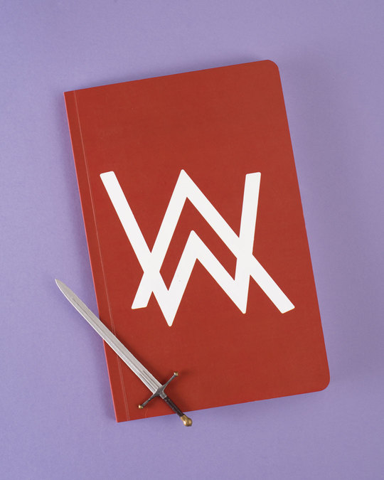 Shop A.W. Music A5 Notebook-Front
