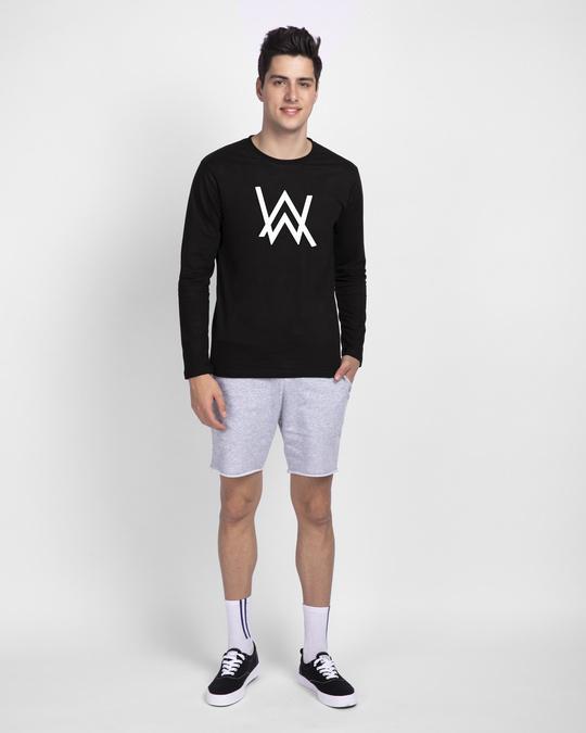 Shop A.W. Music Glow In Dark Full Sleeve T-Shirt -Full