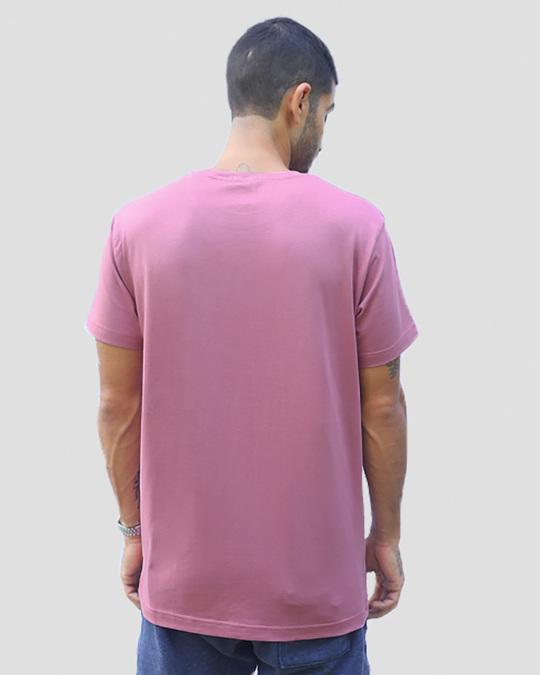 Shop A.W. Music Half Sleeve T-Shirt (GID) Frosty Pink-Design