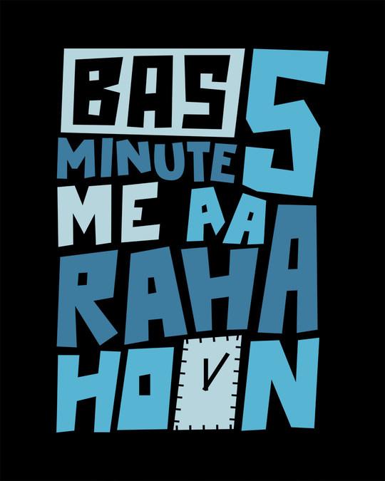Shop Aa Raha Hoon Half Sleeve T-Shirt