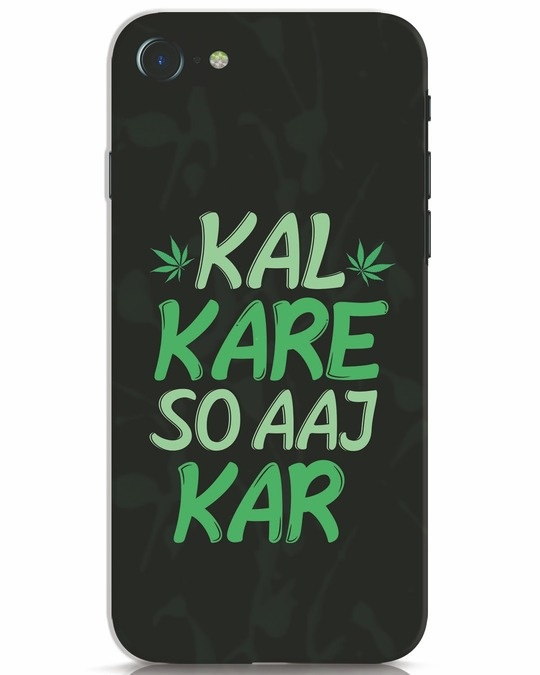 Shop Aaj Kar iPhone 7 Mobile Cover-Front