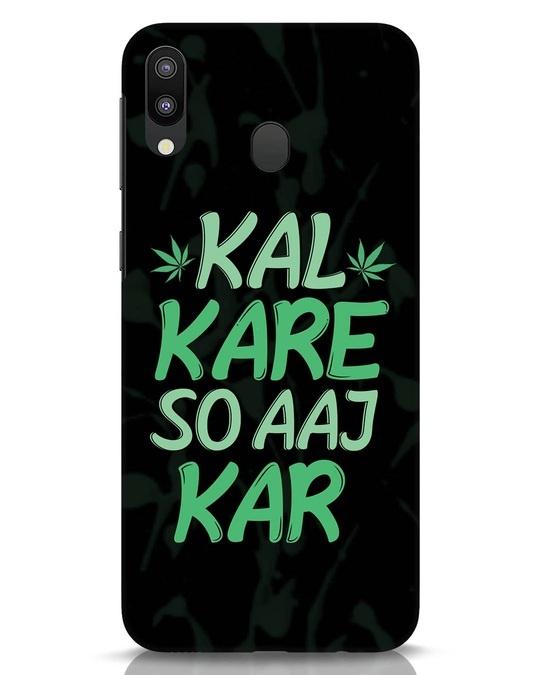 Shop Aaj Kar Samsung Galaxy M20 Mobile Cover-Front